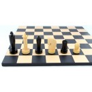 Schach-Set Timeless Black Style
