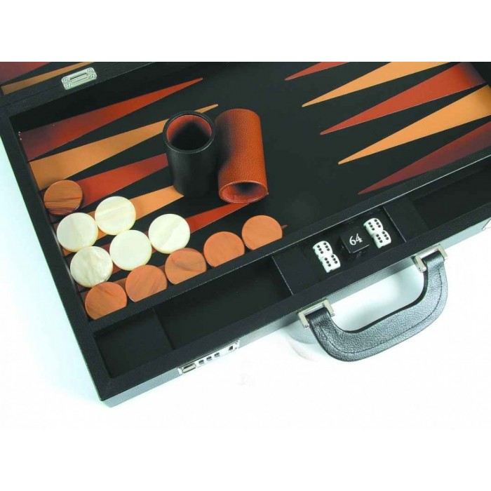 Backgammon Leder