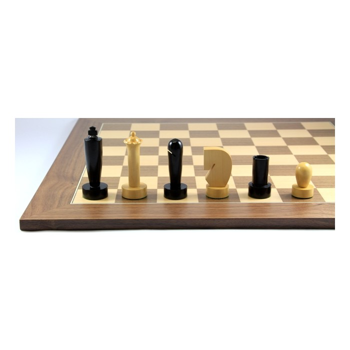 Schach-Set Timeless Black Wama