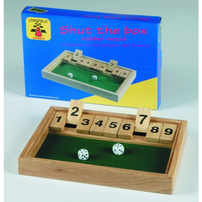 Shut the Box 1 - 9 groß